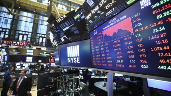 美股周二全线收跌:苹果跌3%,蔚来下挫8.6%